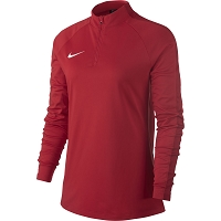 Nike Women's Academy 18 Drill Top - University Red/Gym Red/(White)