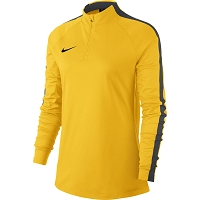 Nike Women's Academy 18 Drill Top - Tour Yellow/Anthracite/(Black)