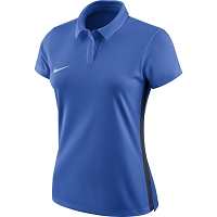 Nike Women's Academy 18 Polo - Royal Blue/Obsidian/(White)