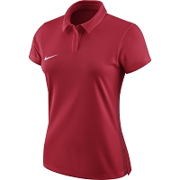 Nike Women's Academy 18 Polo - University Red/Gym Red/(White)