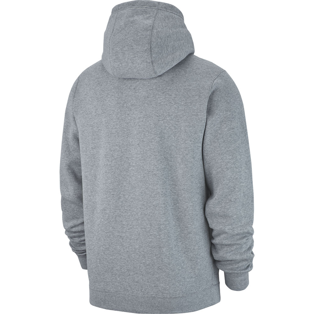 08e4ec8bc01 Nike Team Club 19 Full Zip Hoodie - Dark Grey Heather White