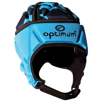 Optimum Razor Headguard - Cyan/Black