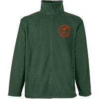 HRA Hampton Court Fleece Jacket - Bottle Green