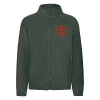 HRA Hampton Court Kids Fleece Jacket - Bottle Green