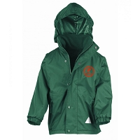HRA Hampton Court Kids/Youths StormDri 4000 Reversible Jacket - Bottle Green