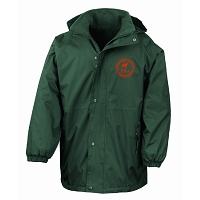HRA Hampton Court Reversible StormDri 4000 Waterproof Jacket - Bottle Green