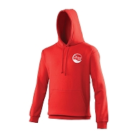 Swim Easy Mens College Hoody Fire Red