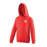 The Swim Easy Club Junior College Hoody Fire Red