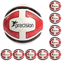 Precision Training Santos Training Ball - Red (Pack of 10)