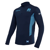 2018/19 Scotland Rugby Soft Shell 1/4 Zip SNR
