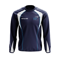 Scottish Student Sport Men's Warm Up Top - Navy