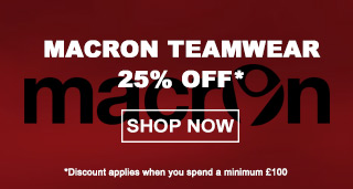Macron teamwear - Football teamwear - Nike Trainingwear - Teamwear UK