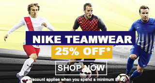 Nike Teamwear - Football Teamwear - Nike Trainigwear