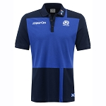 2016/17 Scotland Rugby Cotton Travel Polo Shirt SNR
