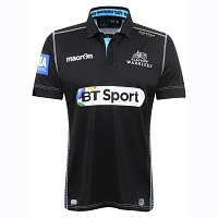 2016/17 Glasgow Warriors Home Replica Shirt SNR SS