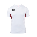 Canterbury Teamwear Challenge Jersey White/Red