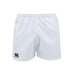 Canterbury Advantage Rugby Short White