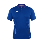 Canterbury Teamwear Team Dry Polo Royal Senior