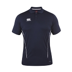 Canterbury Teamwear Team Dry Polo Navy Senior