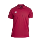 Canterbury Teamwear Team Waimak Polo Red Senior