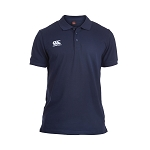 Canterbury Teamwear Team Waimak Polo Navy Senior