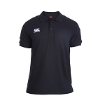 Canterbury Teamwear Team Waimak Polo Black Junior