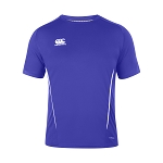 Canterbury Teamwear Team Dry Tee Royal Junior