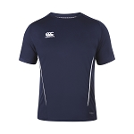 Canterbury Teamwear Team Dry Tee Navy Womens