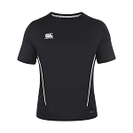 Canterbury Teamwear Team Dry Tee Black Senior
