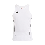 Canterbury Teamwear Team Dry Singlet White Senior