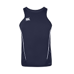 Canterbury Teamwear Team Dry Singlet Navy Senior
