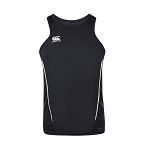 Canterbury Teamwear Team Dry Singlet Black Senior