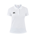 Canterbury Teamwear Team Waimak Polo White Womens