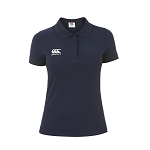 Canterbury Teamwear Team Dry Polo Navy Womens