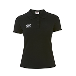 Canterbury Teamwear Team Dry Polo Black Womens
