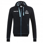 2016/17 Glasgow Warriors Full Zip Hoody JNR (Black)