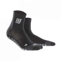 CEP Griptech Short Socks - Black