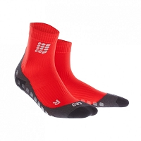 CEP Griptech Short Socks - Red
