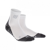 CEP Griptech Short Socks - White