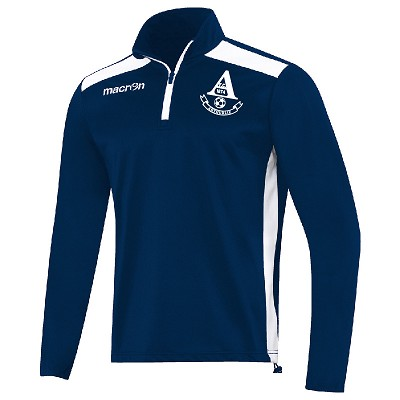 Arthurlie FC Tarim 1/4 Zip Training Top Navy/White Senior