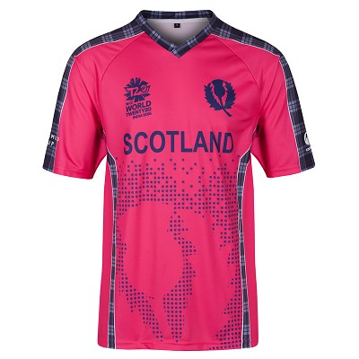 Cricket Scotland Limited Edition World T20 Alternate Top JNR