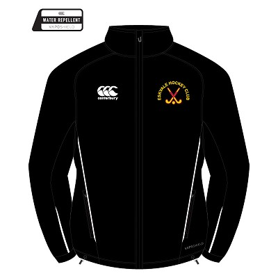 Eskvale Hockey Club Team Full Zip Rain Jacket Black Junior