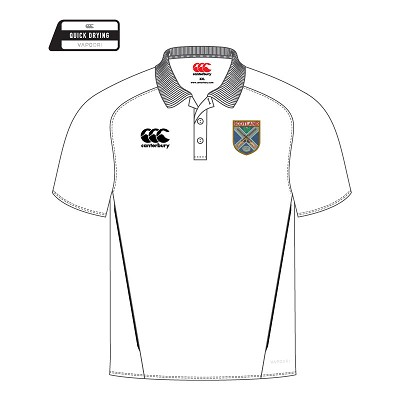 SCTA Team Dry Polo White