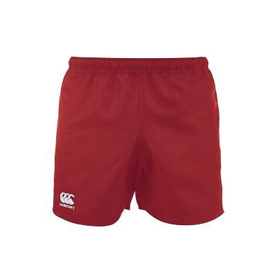 Canterbury Advantage Rugby Short Red