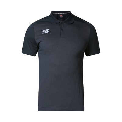 Canterbury Teamwear Pro Dry Polo Shirt Black
