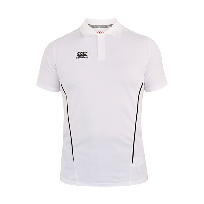 Canterbury Teamwear Team Dry Polo White Senior