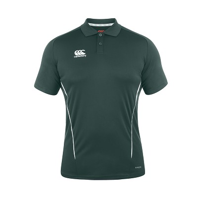 Canterbury Teamwear Team Dry Polo Forest Senior