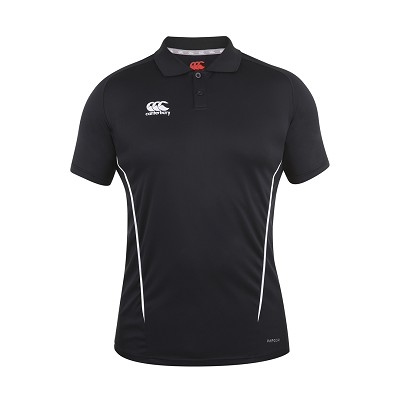 Canterbury Teamwear Team Dry Polo Black Senior