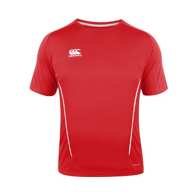 Canterbury Teamwear Team Dry Tee Red Junior