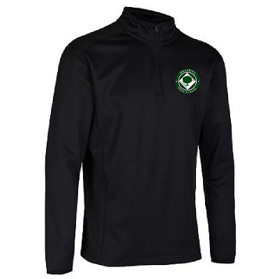 Balerno HS Midlayer Top Black Senior